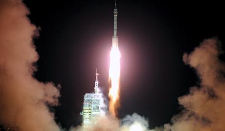 China prepara lançamento da sua primeira nave espacial tripulada.