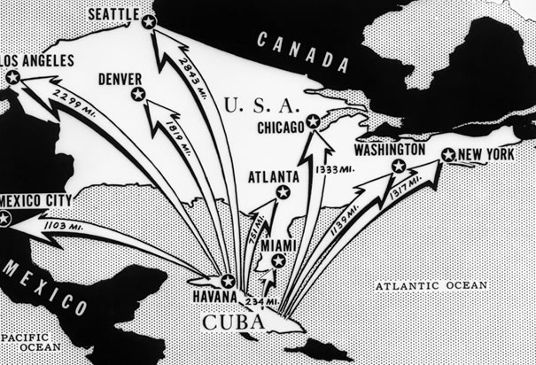 distances-of-major-cities-from-cuba
