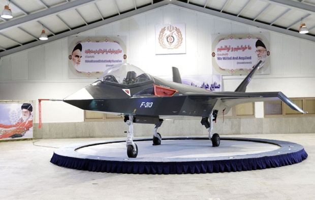 Ahmadinejad unveils new Iranian jetfighter
