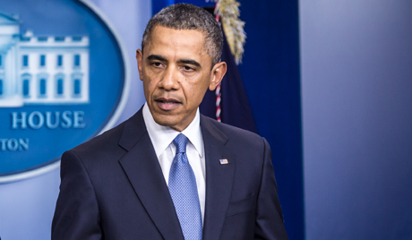 President Obama Makes Statement On Fiscal Cliff Budget Deal