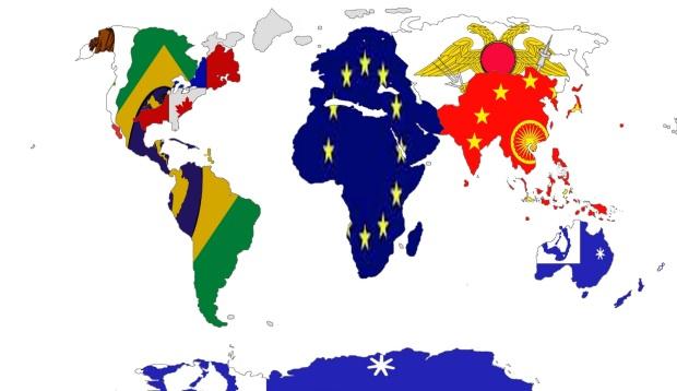 World Map 2210
