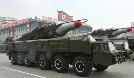 North Korea's relocation of intermediate-range missile