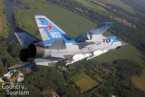 Mig 31 interceptor fighter.