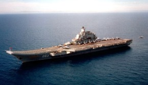 Porta-aviões Admiral Kuznetsov