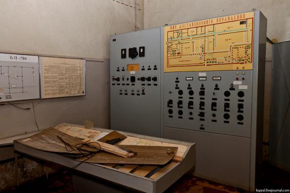 Bunker no rádio HF polurasformirovannoy UVB-76