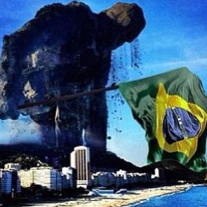 Brasil, o gigante de pés de barro.