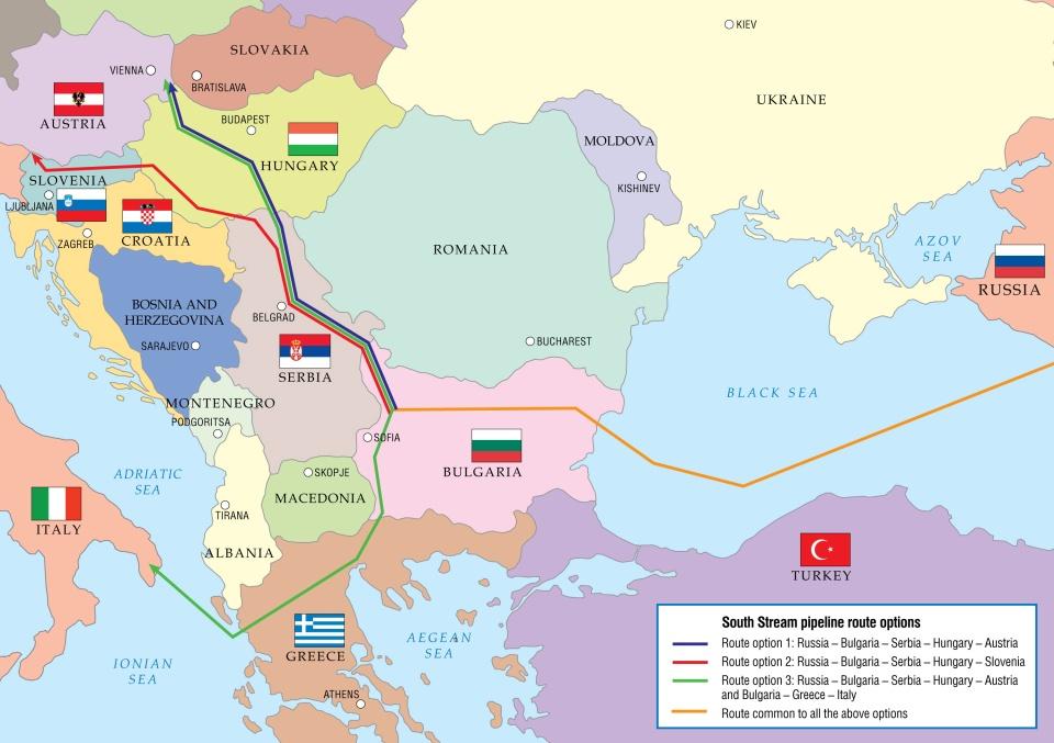 Gasoduto russo pode chegar à Áustria contrariando Comissão Europeia.