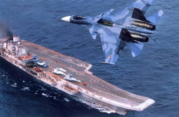 Resultado de imagem para porta aviões russo