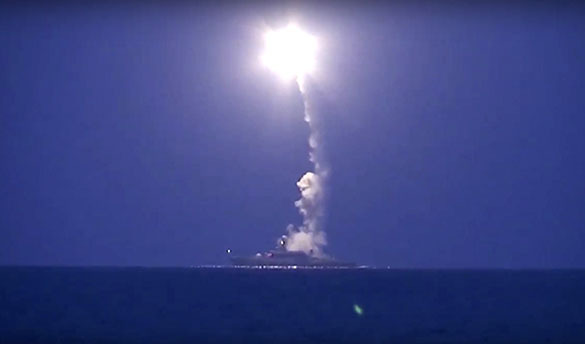 Foto de arquivo: Lançamento do míssil Caliber
