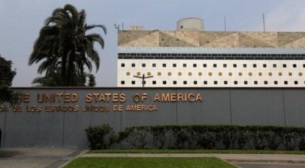 Uma vista da Embaixada dos Estados Unidos em Lima, em 3 de outubro de 2014. De acordo com um comunicado de imprensa da Embaixada dos Estados Unidos em Lima, a embaixada em 2013 havia emitido quase 84 mil vistos de não-imigrantes e mais de 5100 vistos de imigrantes para residentes do Peru. Foto: US Embassy in Lima, Peru / Reuters / Mariana Bazo