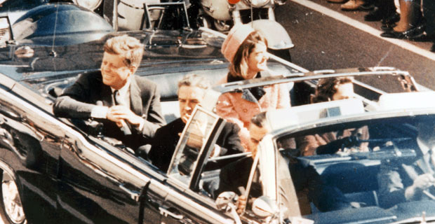 JFK, assassinado pelo Estado Profundo.