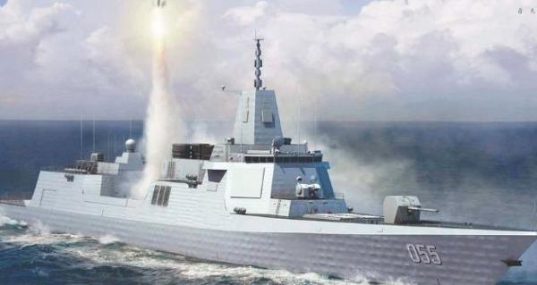 Concepção do Destroyer da segunda geração chinesa, Tipo 055.