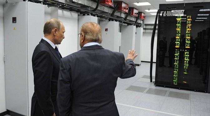 Putin aprova desenvolvimento de supercomputador para criar novas armas.
