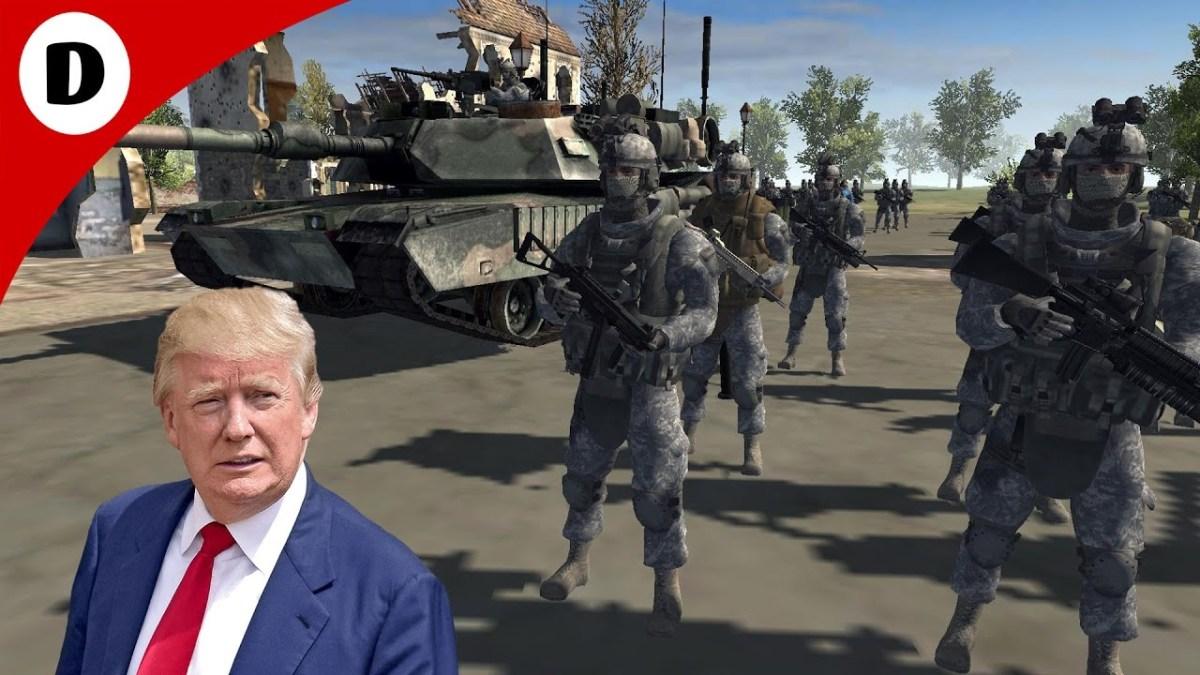 A administração de Trump vai para a próxima guerra?