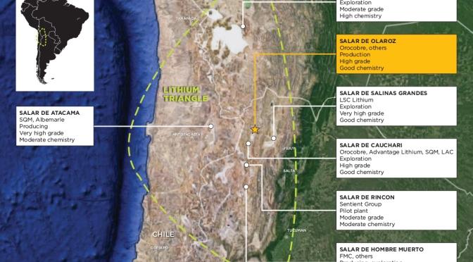 """Os recursos do """"quintal dos Estados Unidos"""" segundo seu próprio ponto de vista. De olho no lítio da Bolívia. A abordagem na América Latina é forçar a Doutrina Monroe para mais além."""