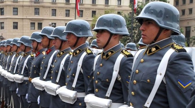 Violência militar chilena – um legado em casa e no exterior.