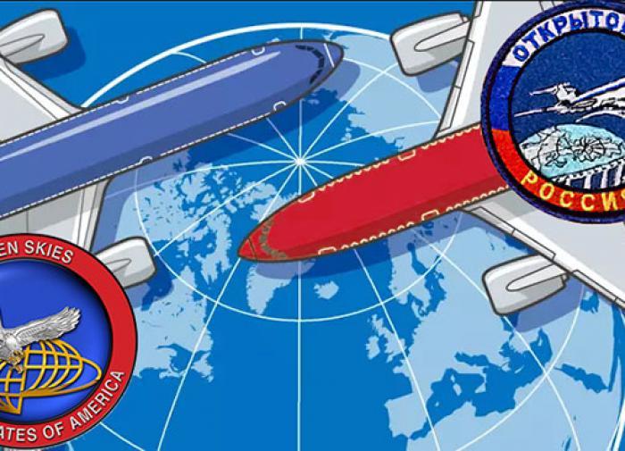 Rússia: Chega de céus abertos.