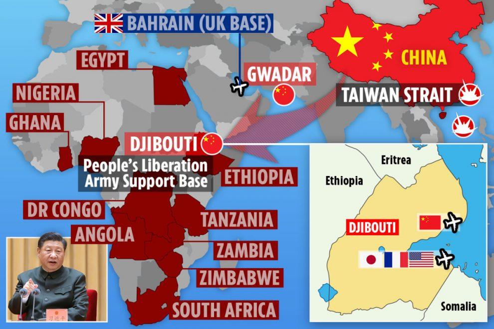"""A África pode ser um enorme campo de batalha na guerra """"inevitável"""" entre os EUA e a China."""